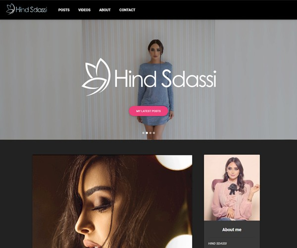 HIND SDASSI Website